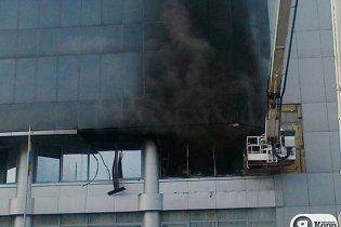 В Киеве сгорела Налоговая администрация