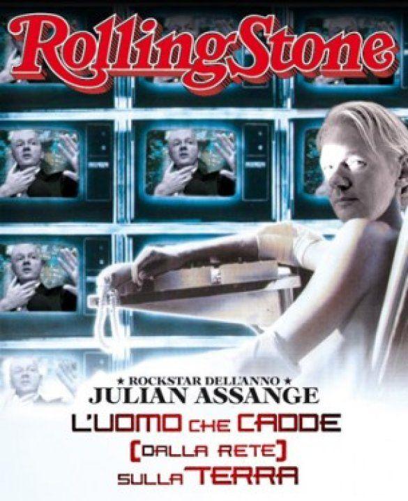 Ассанж на обкладинці Rolling Stone