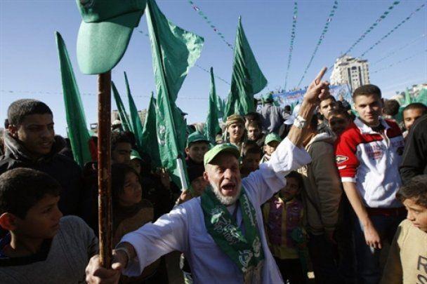 """ХАМАС отметил 23-летие, пообещав """"никогда-никогда"""" не признавать Израиль"""