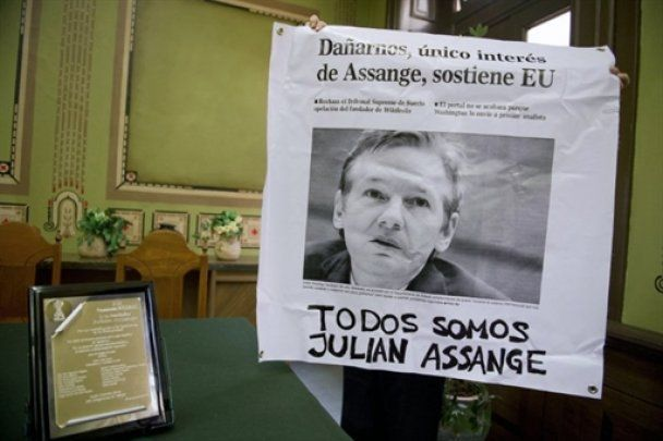 Швеція оскаржить звільнення Джуліана Ассанжа