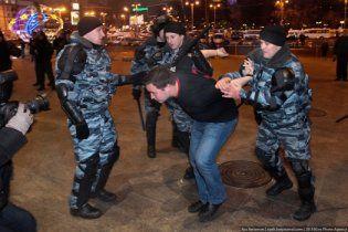 В центр Москвы стягивают милицию из-за слухов об акциях националистов