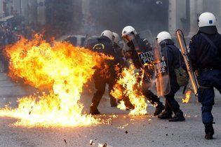 В центре Афин взорвался заминированный мотоцикл