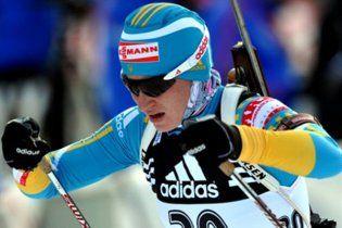 Біатлон. Валя Семеренко виграла першу медаль у кар'єрі