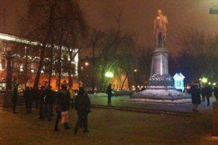 """У Москві десятки націоналістів влаштували протест проти """"етнічної злочинності"""""""