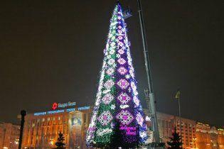 Міліція затримала підприємців за альтернативну ялинку на Майдані
