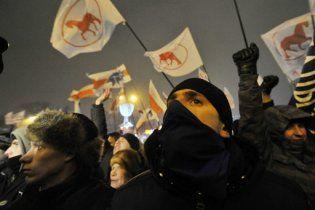 В Минске оппозиционеры начали штурм Дома правительства
