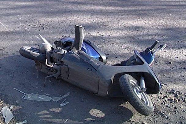 На Донеччині син колишнього мера збив на смерть скутериста