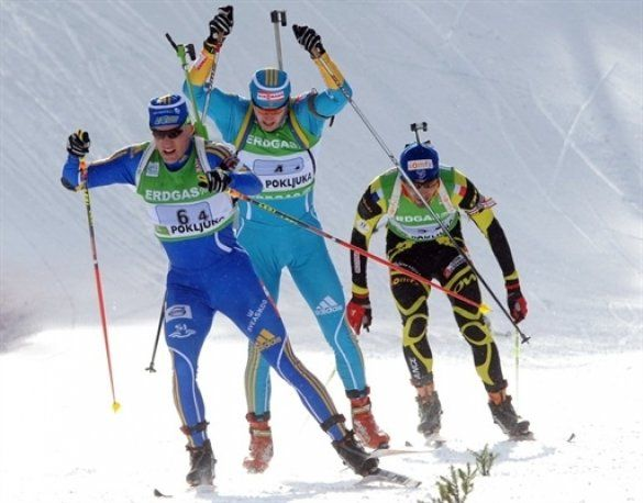 Українські біатлоністи виграли срібло у Поклюці_6