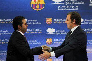 """""""Барселона"""" опинилась в центрі міжнародного скандалу"""