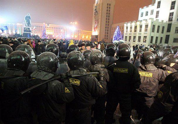 Массовые политические акции протеста в Беларуси