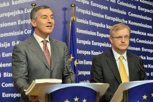 Прем'єр Чорногорії оголосив про свою відставку