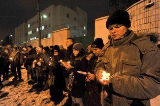 У Білорусі міліція прогнала опозиціонерів від мінського СІЗО