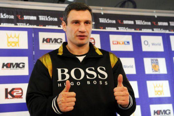Віталій Кличко відзначає 40-річчя