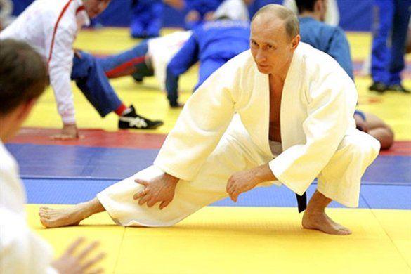Тренування Путіна з дзюдо_9
