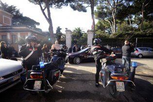У посольствах Греції і Венесуели в Римі виявлені підозрілі посилки
