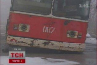 Депутати подарували батьківщині Януковича списані тролейбуси