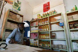 У магазинах Зімбабве до Різдва з'явилися продукти