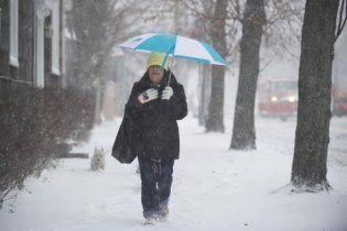 Погода в Україні на понеділок, 21 лютого