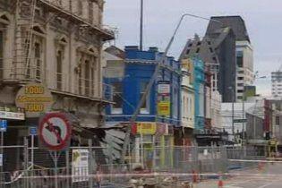 У Новій Зеландії в результаті землетрусу зруйновано 20 будівель