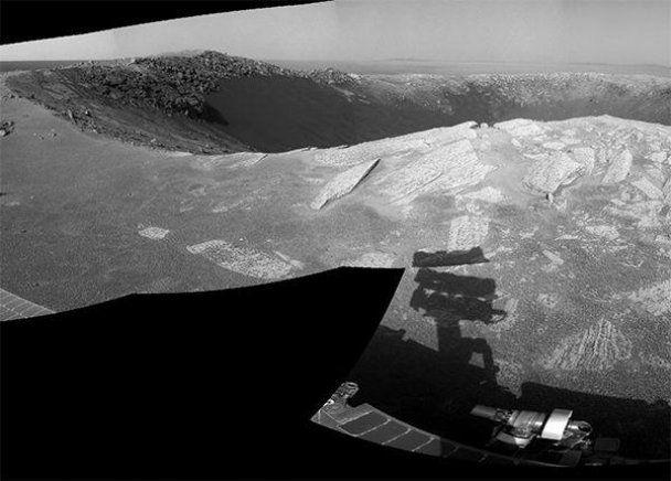 Астрономы увидели, как на Марсе выглядит закат Солнца (видео)