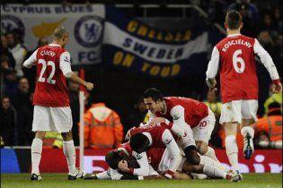 """""""Арсенал"""" впевнено переміг """"Челсі"""" у чемпіонаті Англії (відео)"""