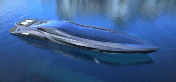 Шведська компанія розробила яхту з гаражем та суперкаром