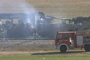 В Израиле 116 человек пострадали в пожаре в пассажирском поезде