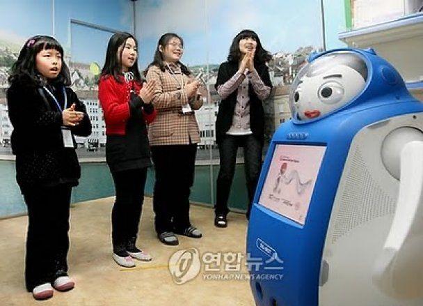 Корейских школьников отныне будут обучать роботы