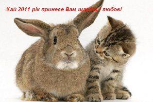Гороскоп на 2011 год: что нам готовят Кот и Кролик