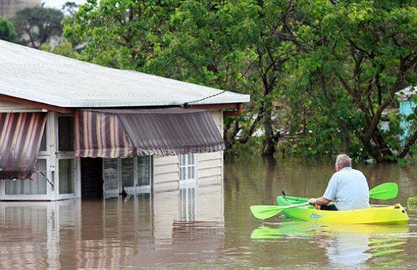 Австралія потерпає від повеней