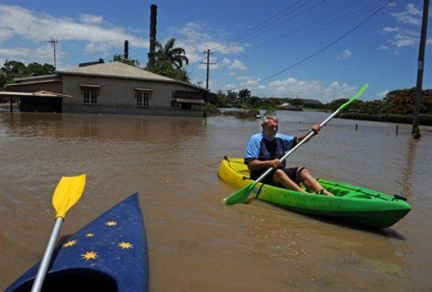 На Новий рік Австралію затопило, сотні тисяч постраждалих
