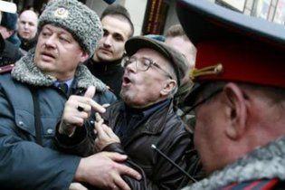 В Москве задержаны лидеры оппозиции