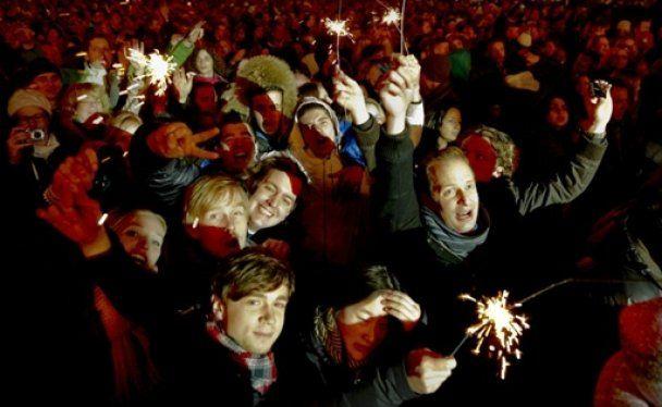 Світ зустрів Новий рік фантастичними феєрверками