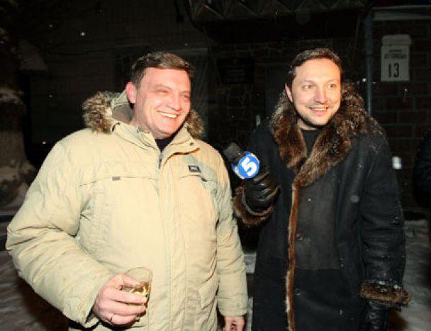 Люди Луценко встретили Новый год под СИЗО с елкой и шампанским