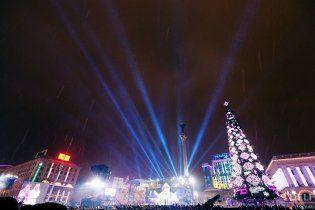 """У КМДА пояснили обрізаний гімн у новорічну ніч """"технічними умовами"""""""