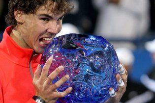 Надаль победил Федерера в первом финале года