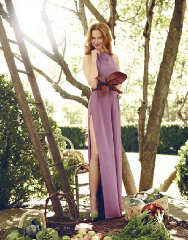 Ніколь Кідман стала німфою для Harper's Bazaar