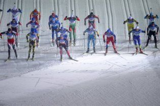 Біатлон. Україна розпочала рік з 4-го місця у чоловічій естафеті