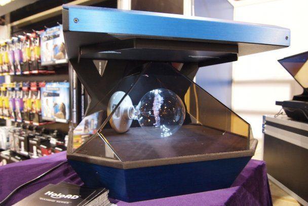 Представлен голографический телевизор будущего