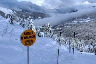 Французские спасатели не смогли спасти украинских лыжников
