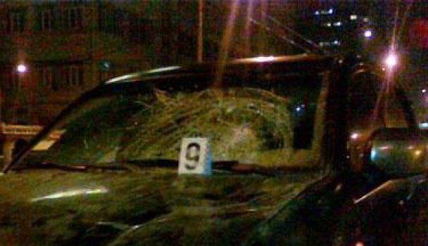 В Киеве джип насмерть сбил мужчину на глазах  у жены и детей