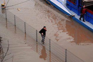 В Германии угроза нового наводнения