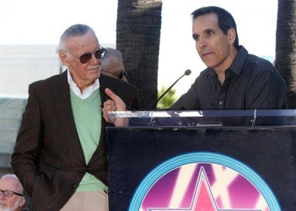 Стен Лі отримав зірку на Алеї Слави в Голлівуді