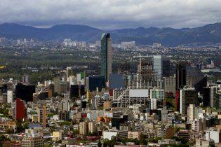 Мехико проваливается под землю