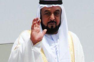Президент ОАЕ зламав руку під час ранкової гімнастики