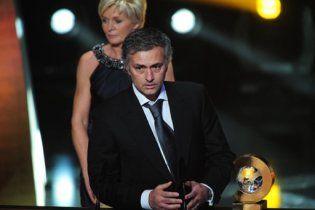 Моурінью визнали найкращим тренером світу