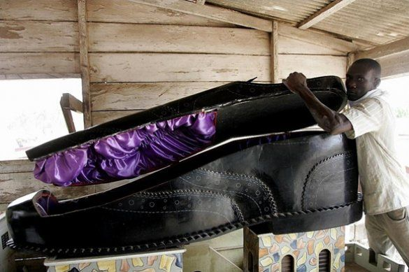 труна-черевик