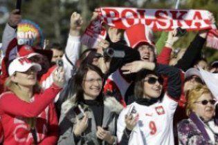 Польських уболівальників визнали найкращими в Європі