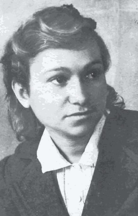 Людмила Фоя. Фото студентських часів (архів СБУ)