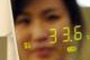 Создано зеркало, которое измеряет температуру тела человека по отражению